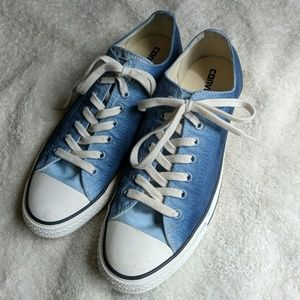 Converse All Star Blue Ombre Tennis Shoes